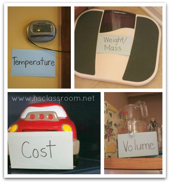 Standard Measurement Scavenger Hunt | The Homeschool Classroom