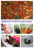 Preschool Science Experiments