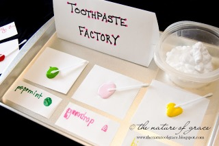 toothpaste factory