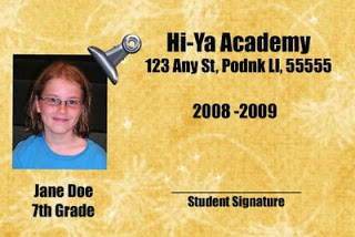 How to Make a Homeschool Student ID Card
