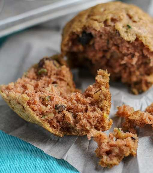 Recipe for Hearty and Delicious Zucchini Raisin Walnut Muffins   Real Life at Home