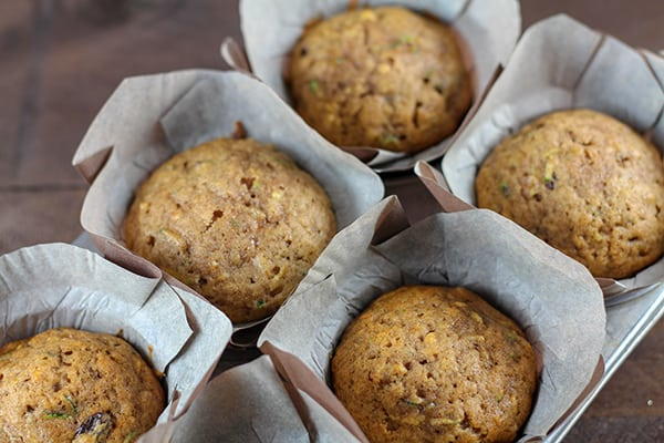 Recipe for Hearty and Delicious Zucchini Muffins with Raisins and Walnuts | Real Life at Home