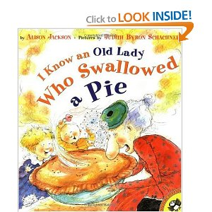 I know an Old Lady who Swallowed a Pie!