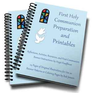 First Communion Preparation and Printables eBook
