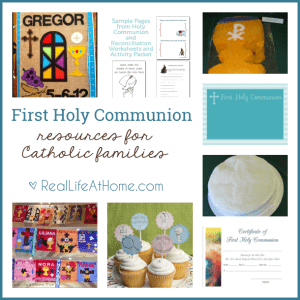First Communion Resources for Catholic Kids and Families
