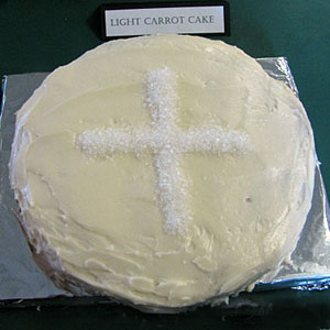 First Communion Host Cake