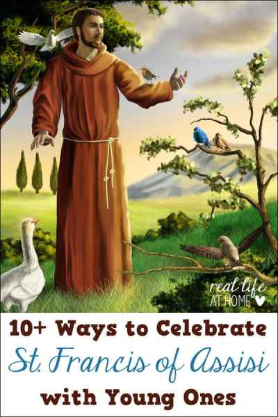 Feast days are a great way to learn about saints! Here are 10+ ideas for fun activities for celebrating the Feast Day of St Francis of Assisi