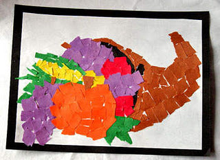 cornucopia mosaic