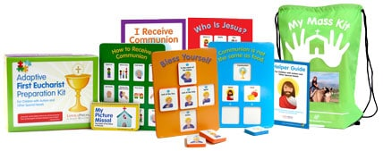 Adaptive First Communion Preparation Kit for Children with Special Needs