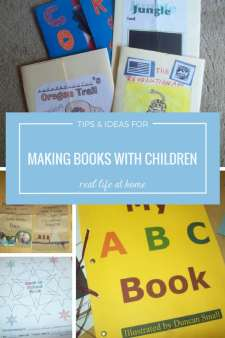 Tips and Ideas fro Making Books with Children