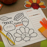 thanksgiving decor printables