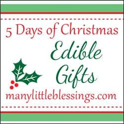 Edible Gifts for Christmas: Non-Traditional Options