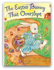 Easter Bunny who overslept