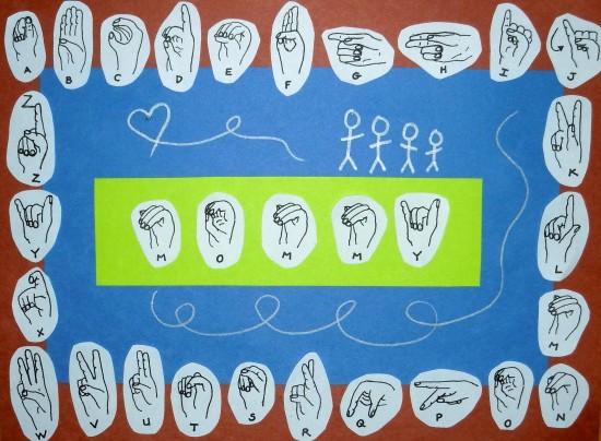 ASL Placemat
