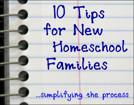 10 tips for new homeschoolers