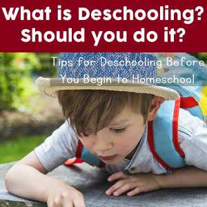 This article defines the term deschooling, explains its importance, and suggests activities to encourage a productive deschooling transition for your child.