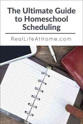 Need help putting together a daily, weekly, or yearly homeschool schedule? This ultimate guide to homeschool scheduling will help you with all of those and more!