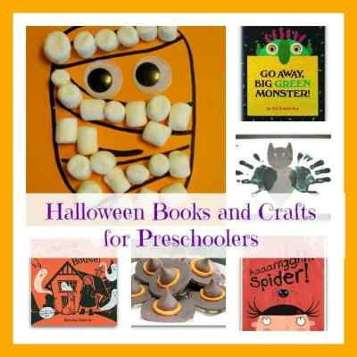 Ideas for the best Halloween books, crafts, and snacks for kids in preschool and kindergarten