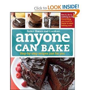Anyone Can Bake cookbook