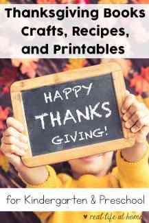 Thanksgiving Books, Crafts, Recipes, and Printables