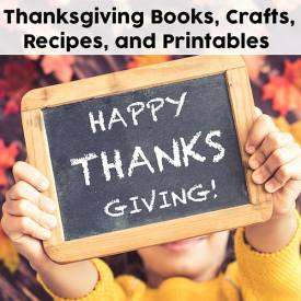 Thanksgiving is a great chance to learn, create, and explore with kids! Here are eleven Thanksgiving books along with crafts, recipes, activities, and printables to use along with them. | Real Life at Home