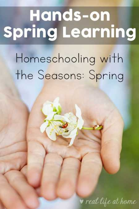 Hands-on Spring Learning - Homeschooling with the Seasons: Spring