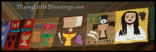 First Communion Banner Ideas