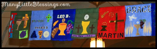 communion banner ideas
