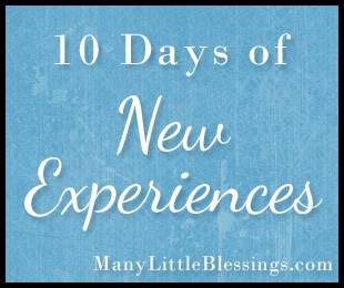 10 Things I Would Like to Do Someday {10 Days of New Experiences}