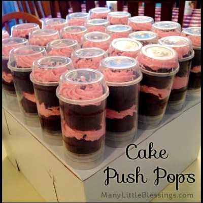 cake push pops