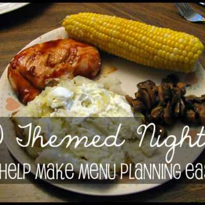 In a menu planning rut? Scrambling every night at dinner time? Here are 10+ theme night ideas to help make your menu planning easier and less stressful | Real Life at Home