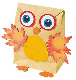Fall Owl Craft (Makes 12)