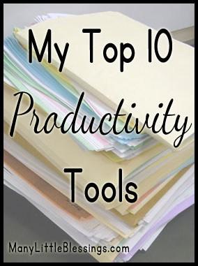 My Top 10 Productivity Tools