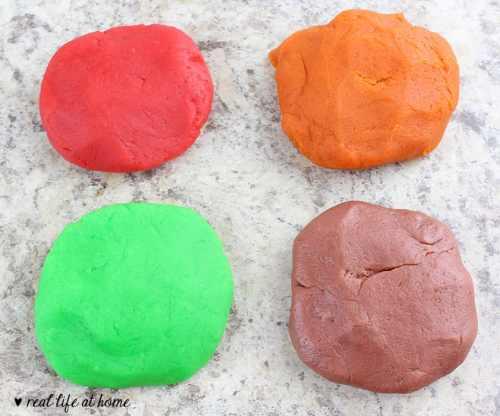 Homemade Playdough Recipes and Printables Playdough Mats