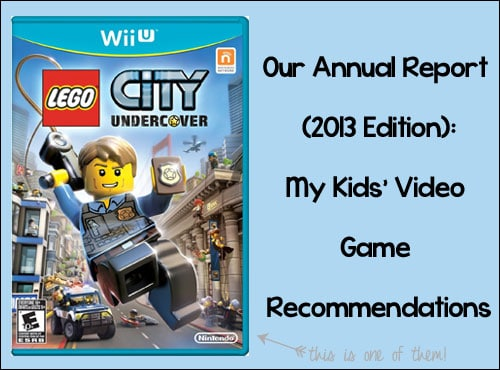My Kids' Video Game Recommendations for 2013