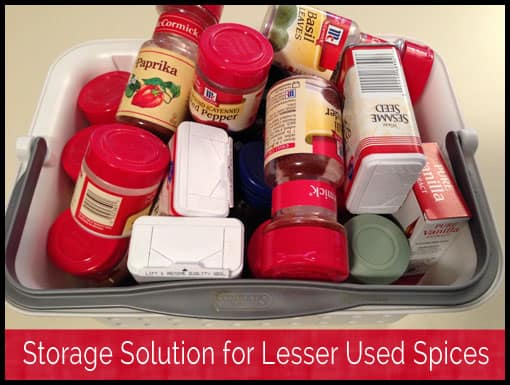 How to Store Lesser Used Spices in Your Kitchen