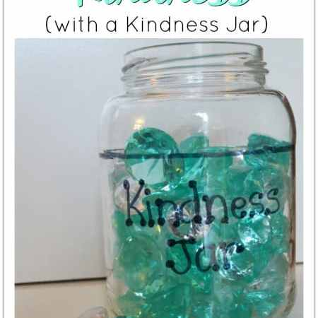 Teaching Kids Kindness (with a Kindness Jar)