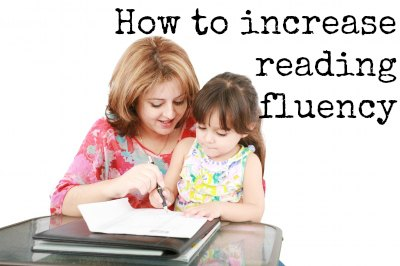 Guide to increase reading fluency