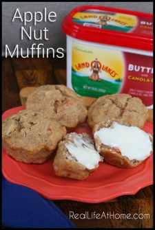 Apple Nut Muffin Recipe