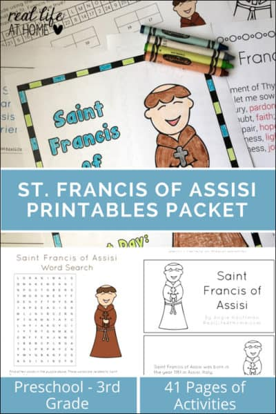 photograph regarding Prayer Rock Poem Printable referred to as 10+ Tips for Celebrating St Francis of Assisi with Youthful Kinds