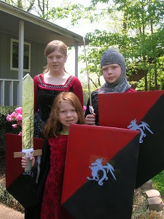 knight costumes
