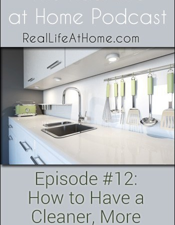 012: How to Have a Cleaner, More Organized Kitchen {Podcast}