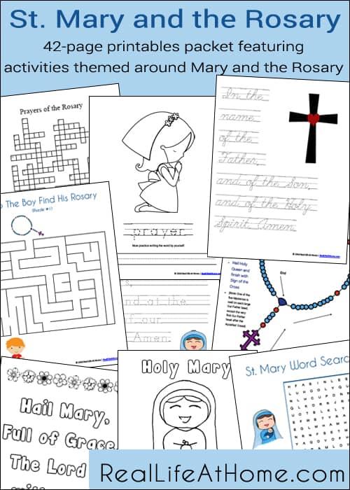 Rosary Craft For Preschoolers