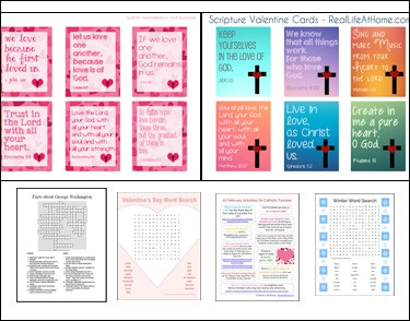 Free Printables for Kids with February Themes