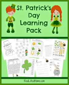 St Patrick's Day Printable Resources for Kindergarten through 3rd Grade