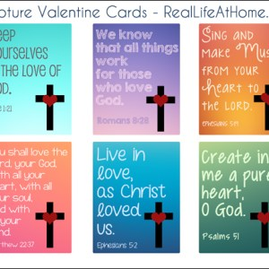Bible verse valentine card printable