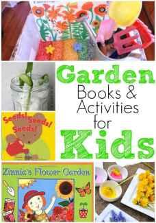 Garden books and activities for preschool