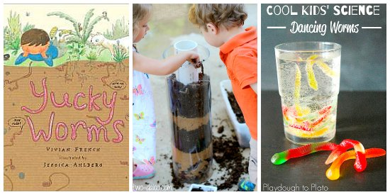 worm book activities for kids