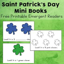 St. Patrick's Day Mini Books – Free Printable Emergent Readers