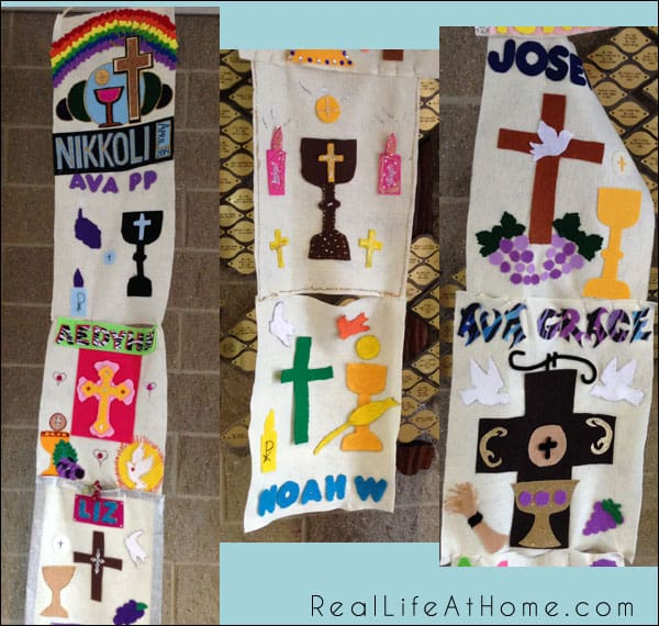 75+ First Holy Communion Banner Designs